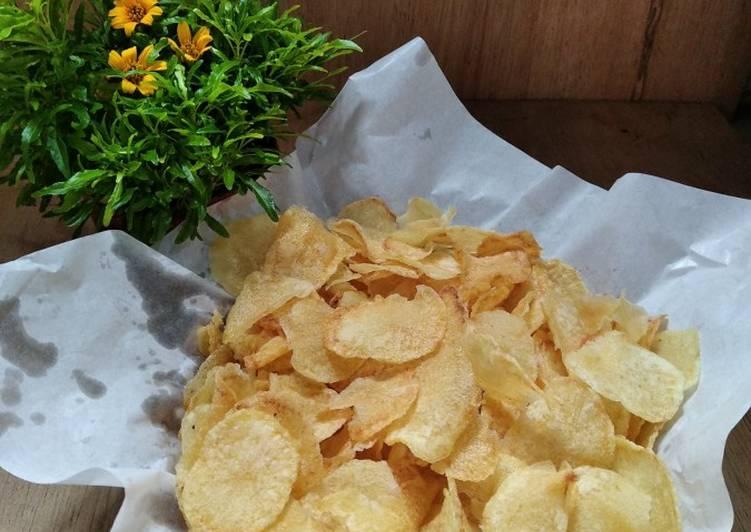 Cara membuat *keripik kentang original*