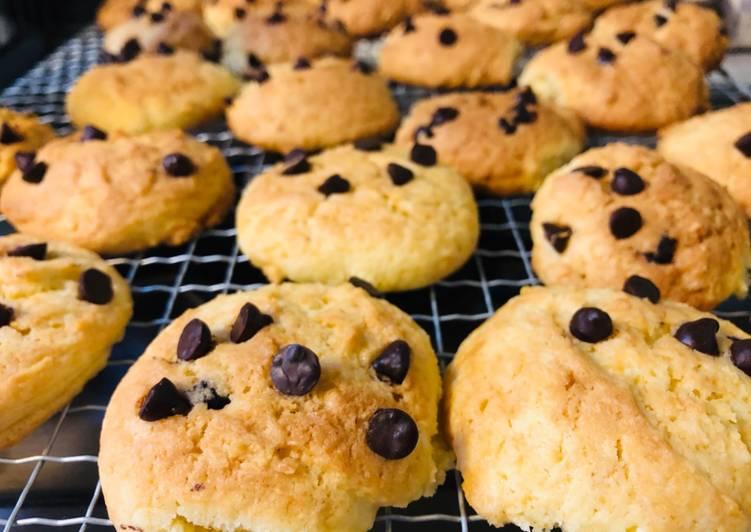 Cara membuat Coco chips 🍪 cookies renyah