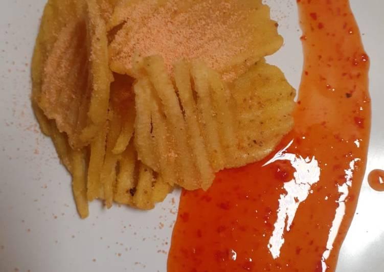 Resep: Kripik kentang