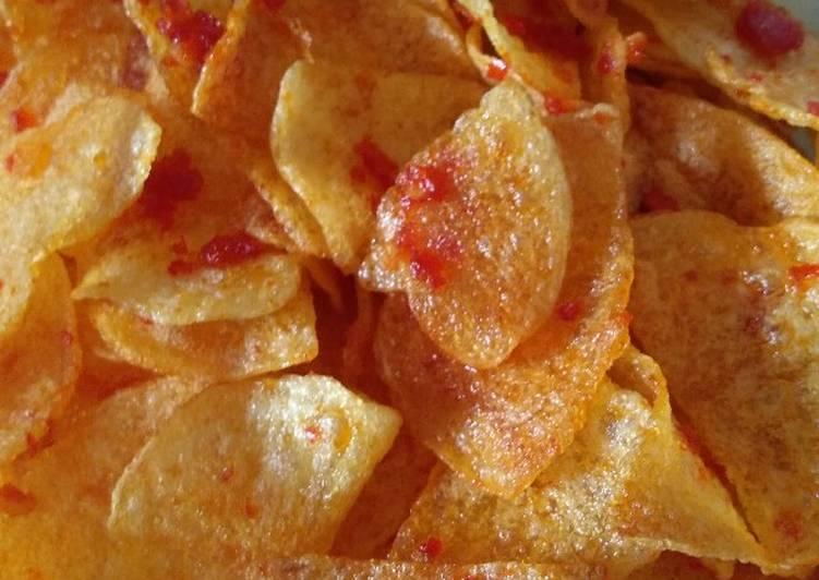 Resep: Sambal keripik kentang istimewa
