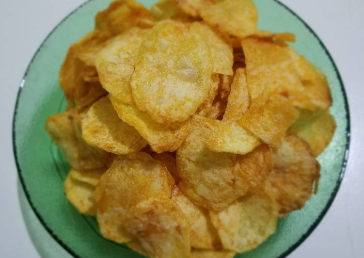 Resep: 72. Keripik kentang simple