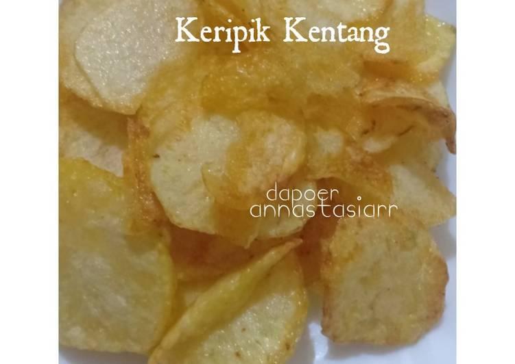 Cara mengolah Keripik kentang