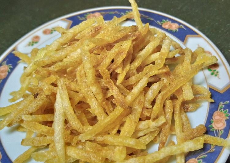 Cara memasak Kripik kentang renyah tahan 2 bulan istimewa