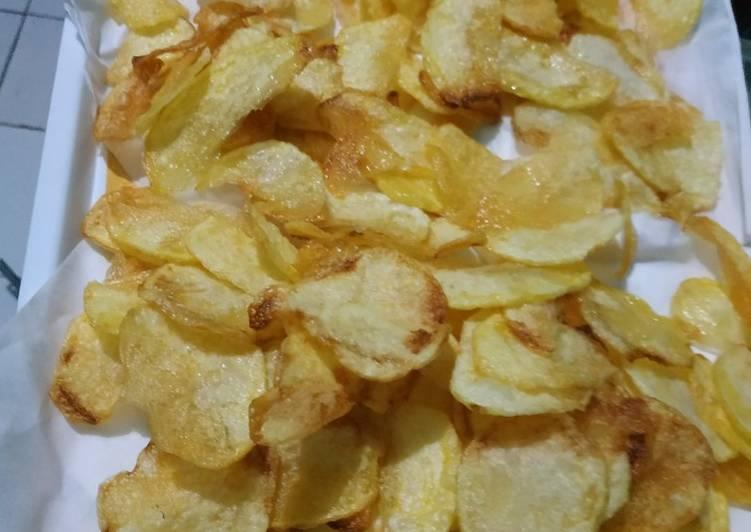 Resep: Keripik kentang lezat
