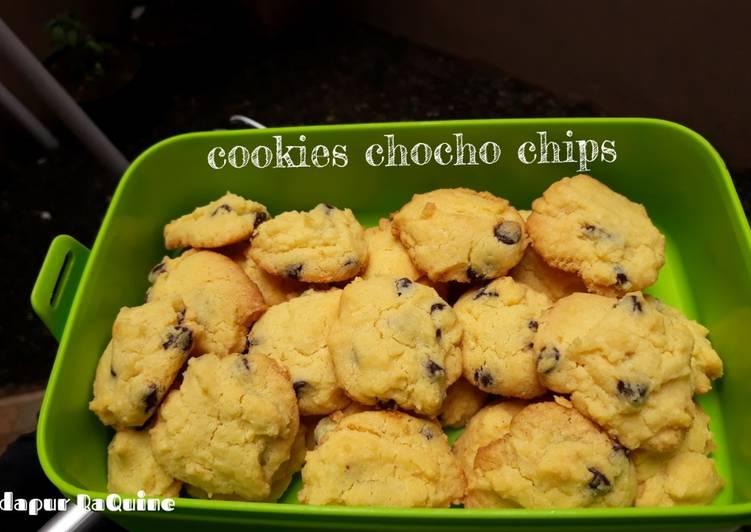 Resep: Cookies chocho chips