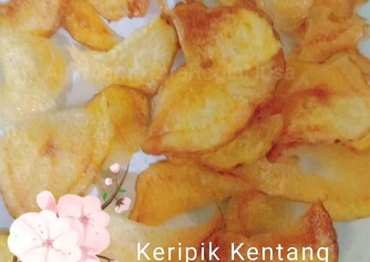 Resep: Keripik kentang original