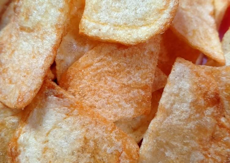 Resep membuat Potato Chips (keripik kentang)