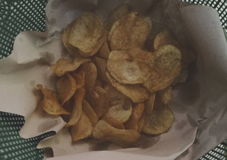 Cara membuat Kripik kentang super garing renyah anti gagal