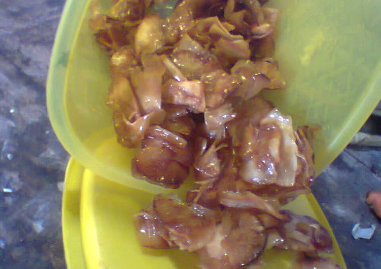 Resep memasak Keripik singkong pedas manis enak