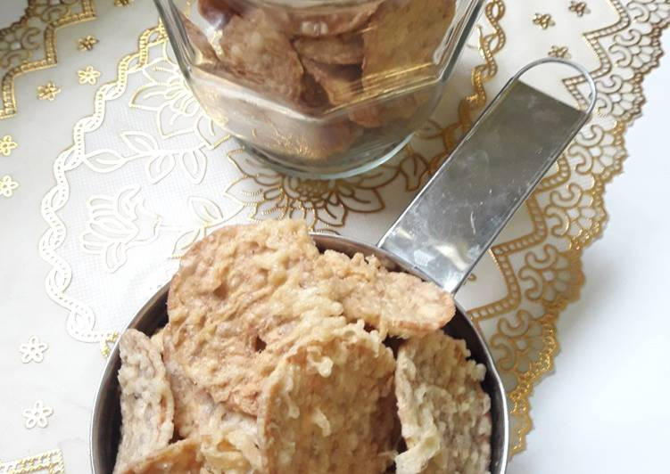 Cara memasak Kripik tempe renyah