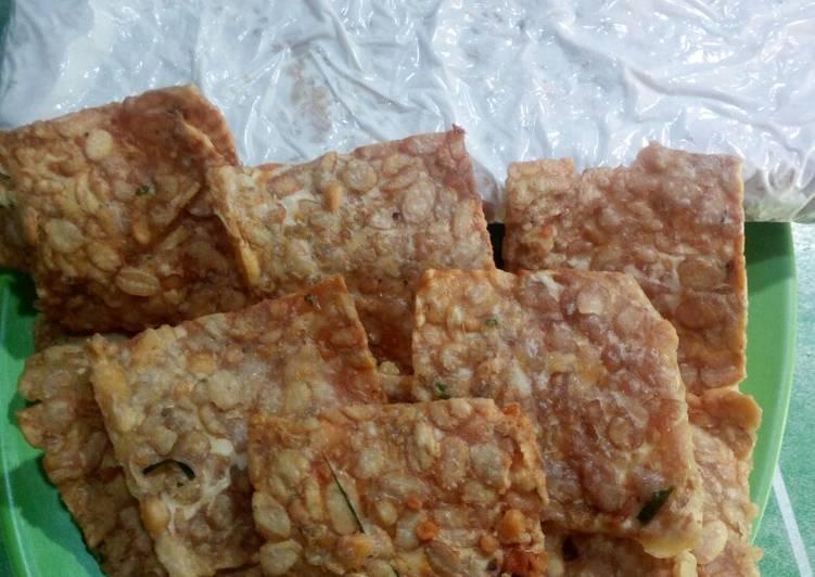 Cara Mudah memasak Keripik tempe