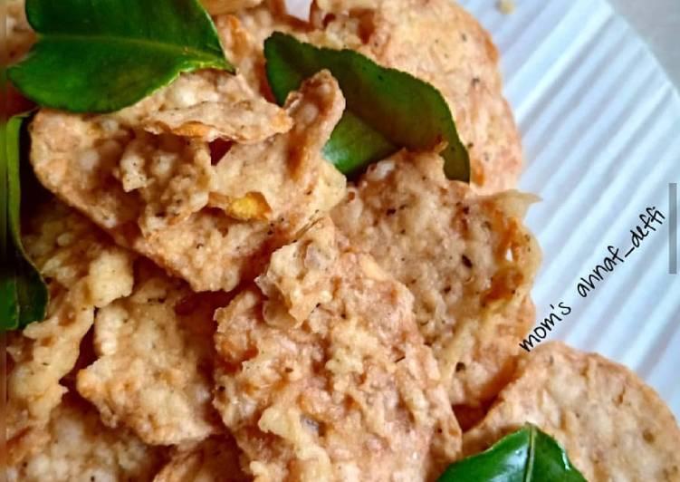 Resep: Keripik tempe daun jeruk lezat