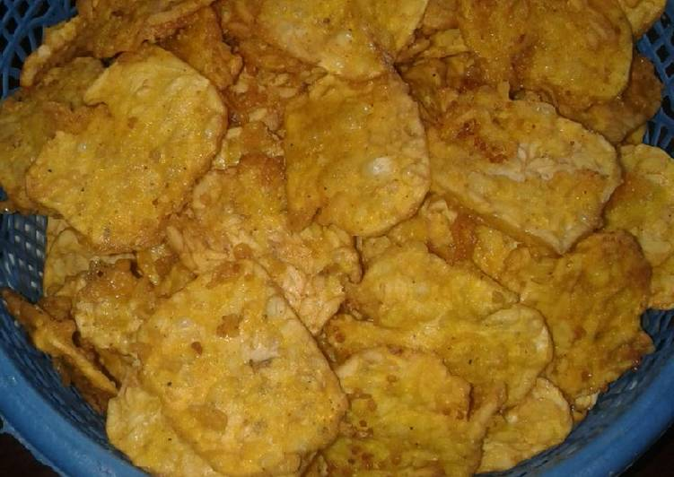 Cara memasak Kripik tempe enak