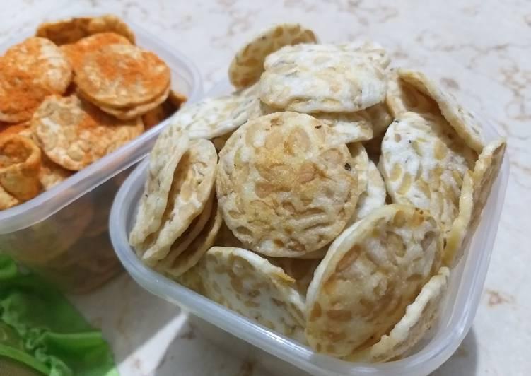 Resep: Kripik tempe tapioka Homemade+step by step lezat