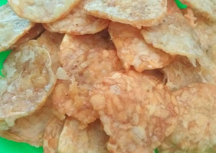 Cara membuat Keripik tempe crispy enak