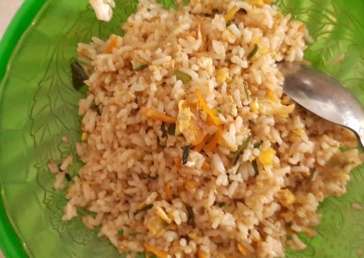 Resep mengolah Nasi goreng mawut istimewa