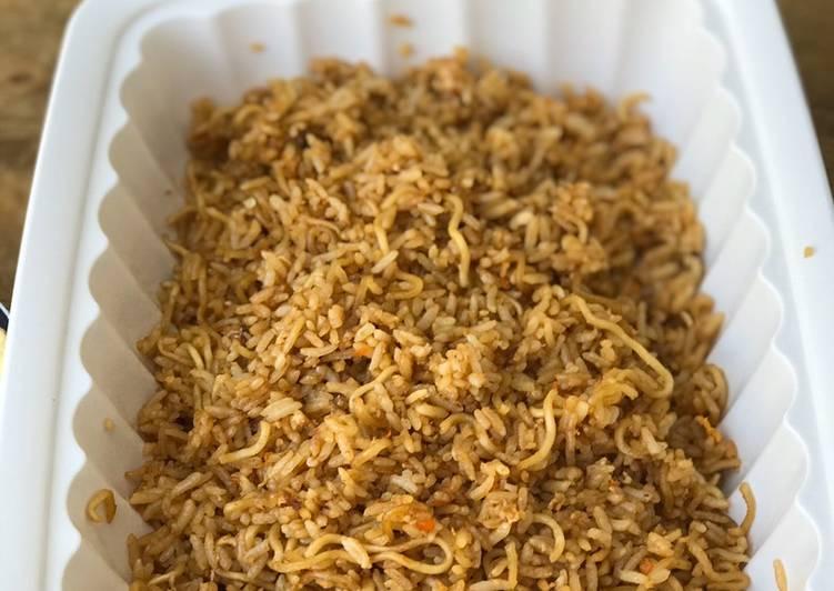 Nasi Goreng Mawut(campur mie)