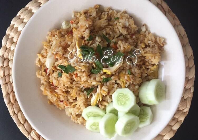 Cara mengolah Nasi goreng mawut enak