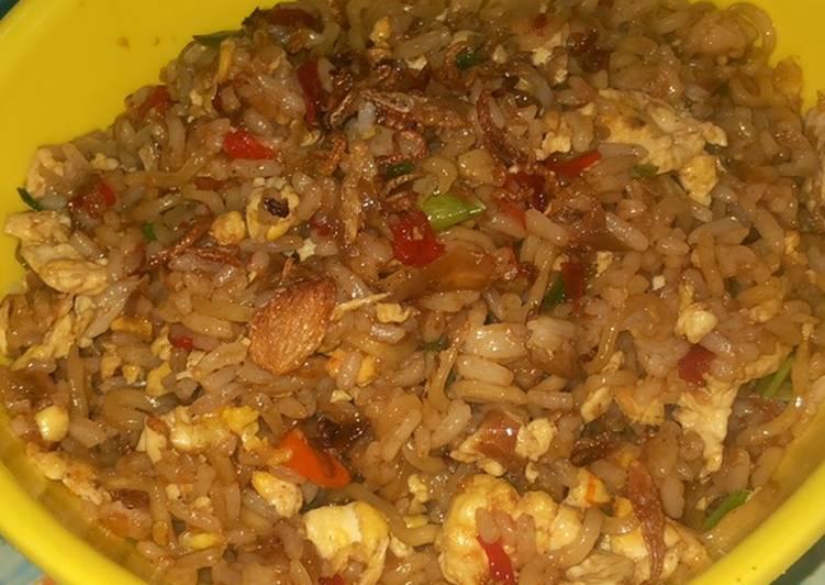 Resep: Nasi Goreng Mawut / Magelangan Indomie Enak dan Mudah