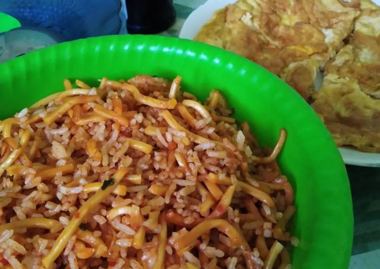 Resep: 67. Nasi Mawut Goreng Aceh - ala Mamah Afa enak