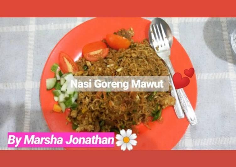 Resep: Nasi goreng Mawut ala abang-abang#SiapRamadan istimewa