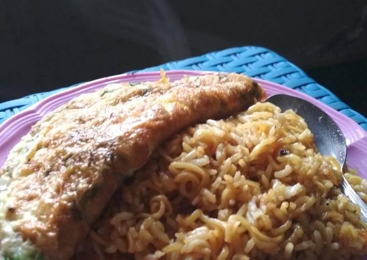Resep memasak Nasi goreng mawut