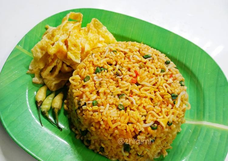 Cara Mudah membuat Nasi Goreng Mawut ala ala enak