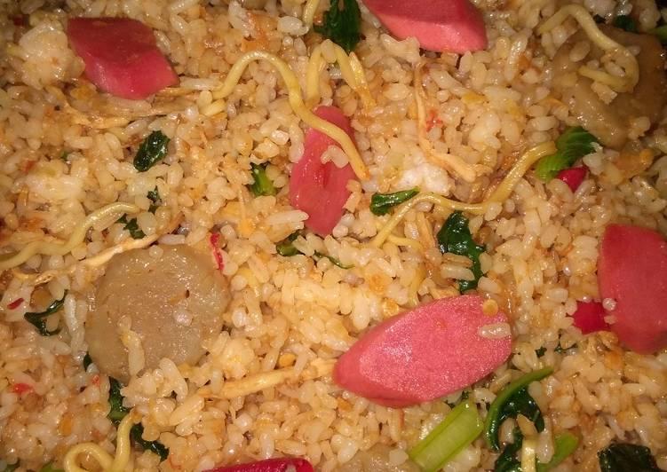 Resep membuat Nasi goreng mawut lezat