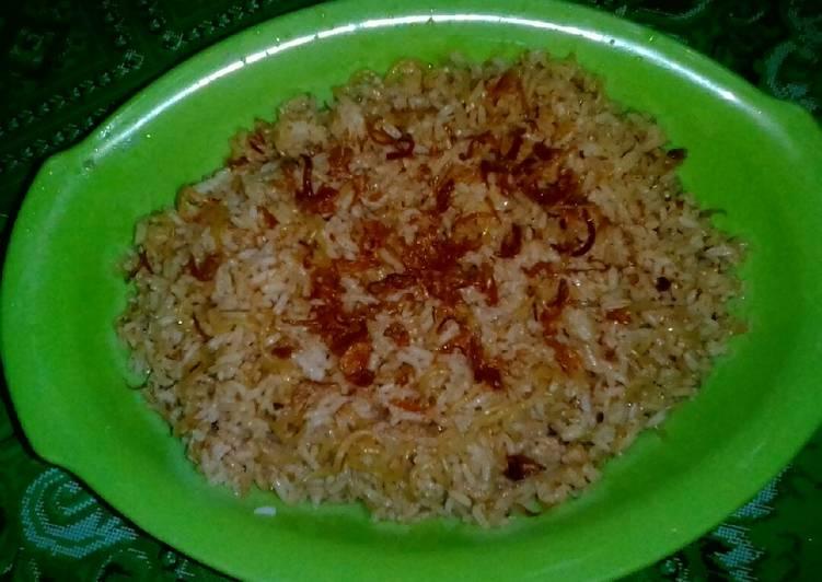 Cara Mudah memasak Nasi goreng mawut sederhana istimewa