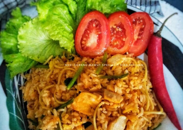 Resep: Nasi goreng mawut special istimewa