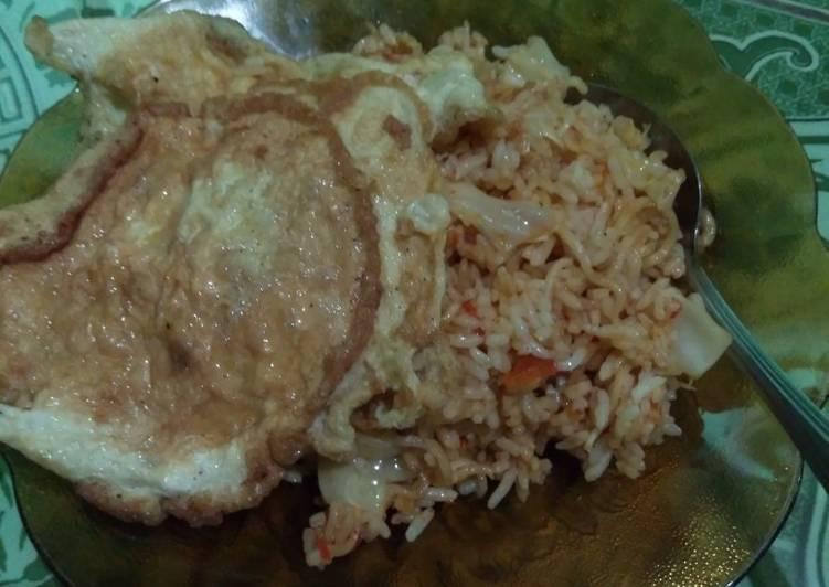 Resep: Nasi goreng mawut enak