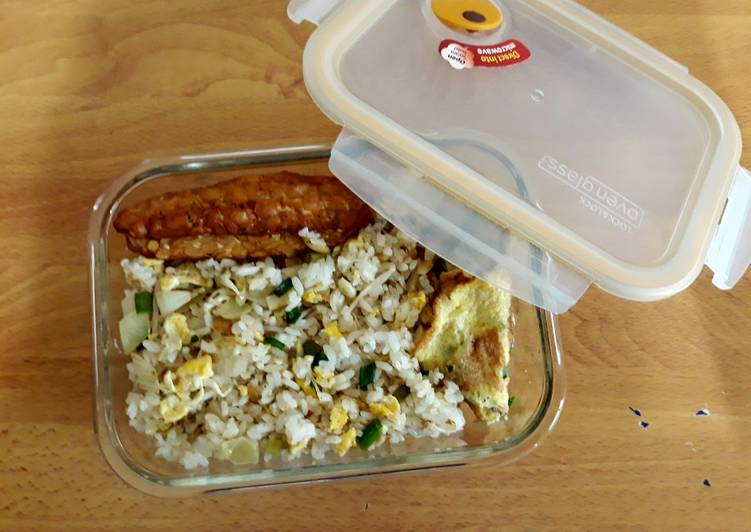 Resep: Nasi goreng Mawut Enoki Mushroom enak