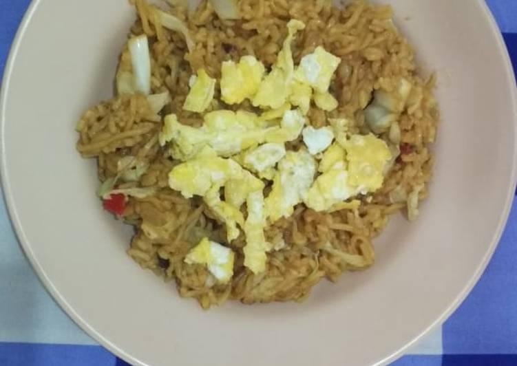 Resep: Nasi goreng mawut