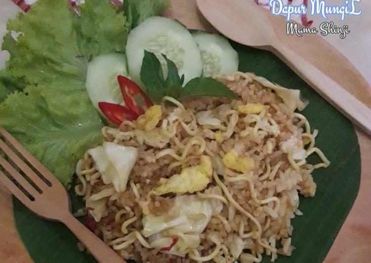 Cara mengolah Nasi Goreng Mawut ala Dapur MungiL