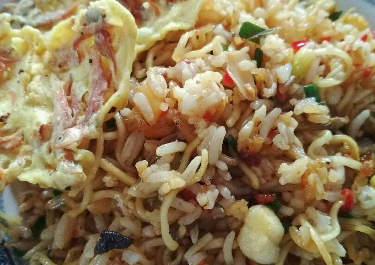 Resep: Nasi mawut teri nasi