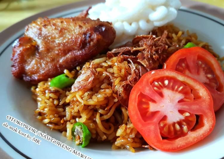 Resep: Otokowok / Nasi Goreng Mawut ala anak kost istimewa