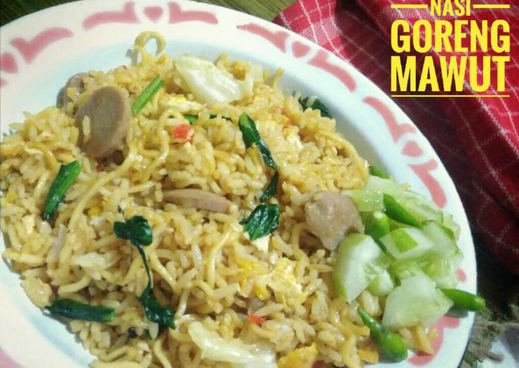 Cara Mudah membuat Nasi goreng mawut enak