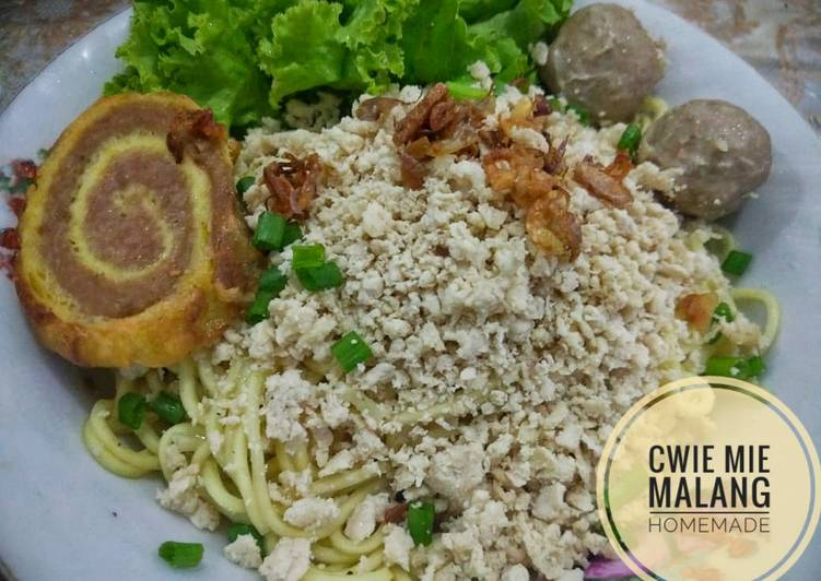 Cara Mudah mengolah Cwie mie malang (mudah & enak) lezat