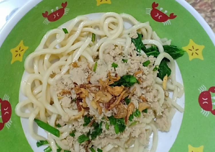 Resep membuat Cui mie chicken