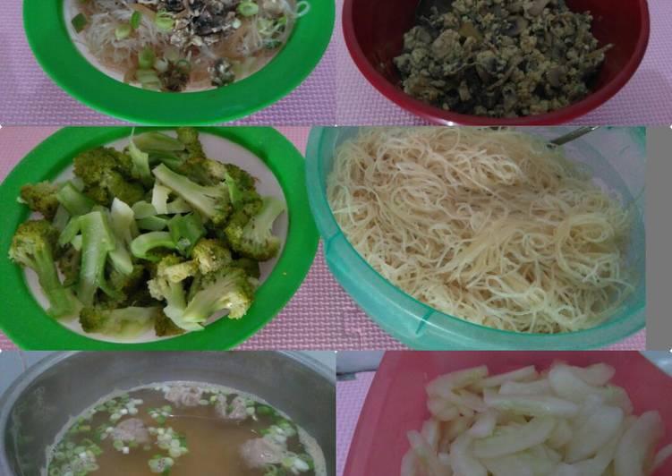 Resep: 022. Cwi Mie Jagung jamur kancing. Yummy. enak