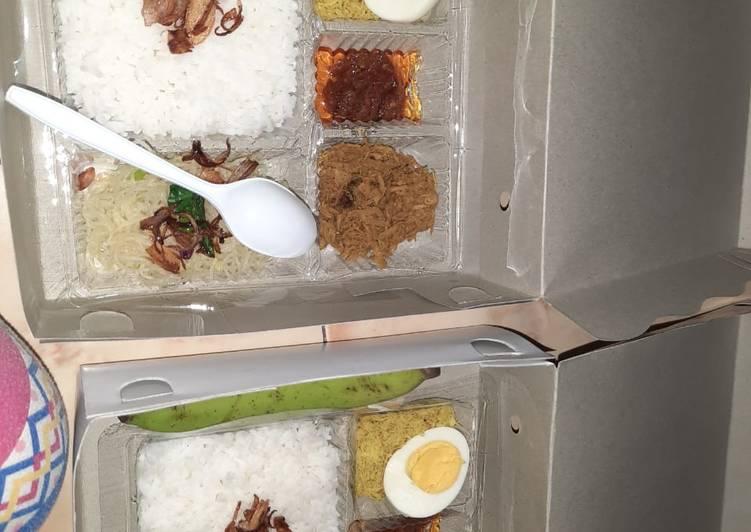 Cara Mudah memasak Nasi krawu ayam khas gresik