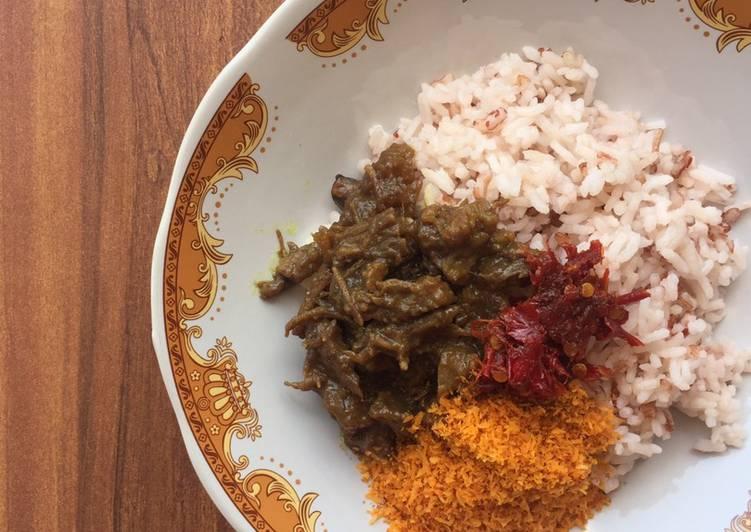 Resep: Nasi Krawu khas Gresik enak