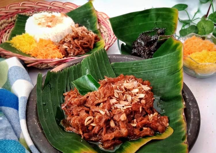 Cara memasak Nasi Krawu khas gresik