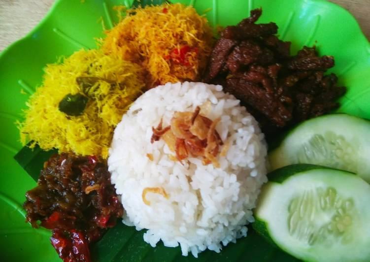 Resep membuat 92) Nasi Krawu Khas Gresik #rabubaru #bikinramadanberkesan
