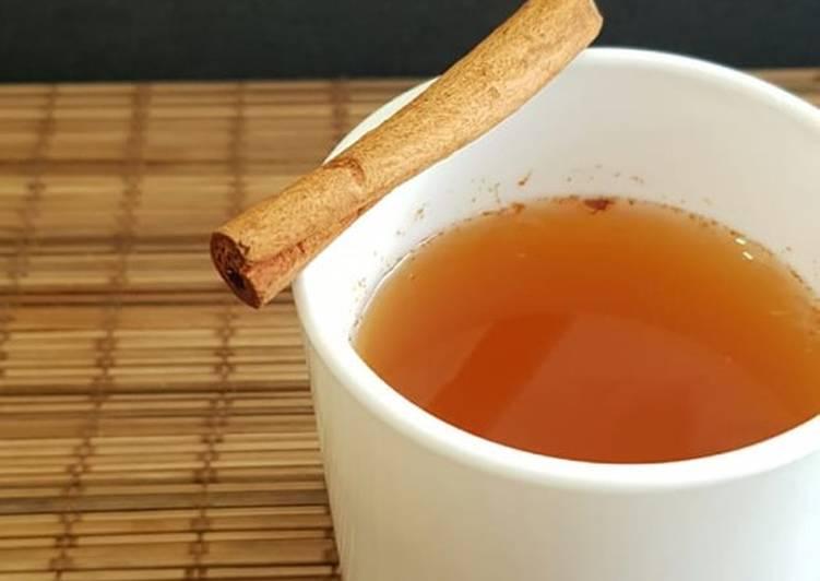 Cara Mudah memasak Ginger Tea for Cold & Digestion enak