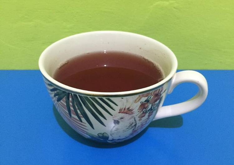 Resep: Korean ginger tea (생강차 / Saenggang-cha) a.k.a teh jahe korea