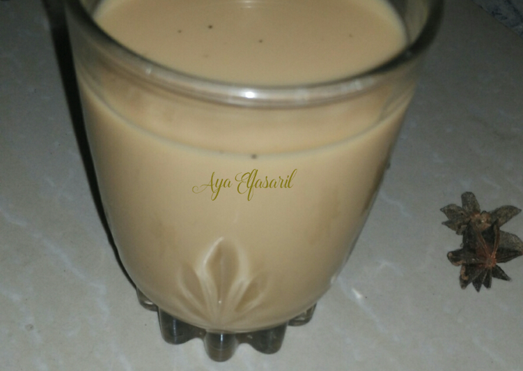 Resep: Chai Masala (teh rempah susu) ala aku 👍👍👍👍 enak