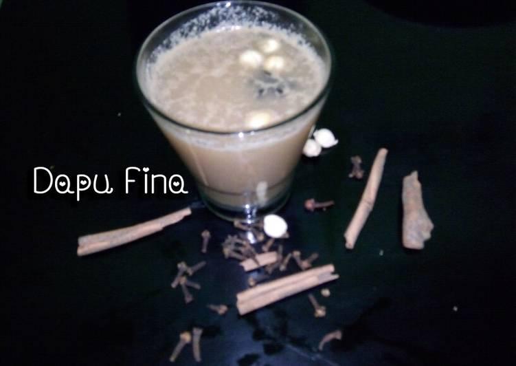 Cara membuat Chai tea latte atau mandret(achenese) istimewa