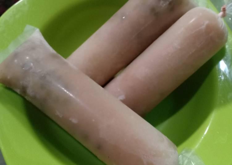 Resep membuat Es lilin kacang hijau istimewa