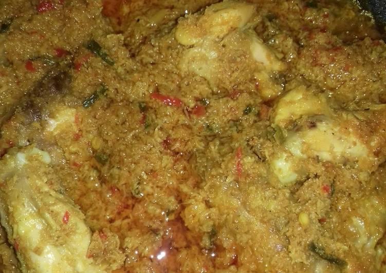 Resep: Nasi boranan khas lamongan lezat